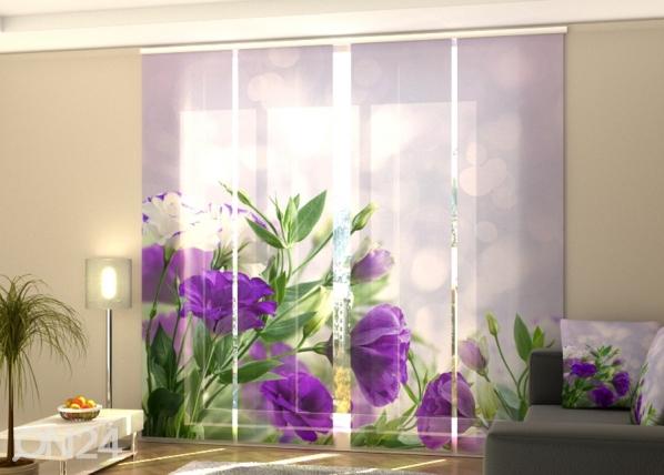 Затемняющая панельная штора Purple Eustoma 240x240 см ED-189450