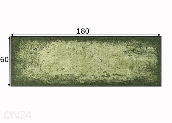 Matto Shades of Green A5-191024