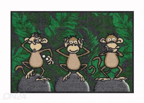 Ovimatto Three Monkeys 50x75 cm A5-191702