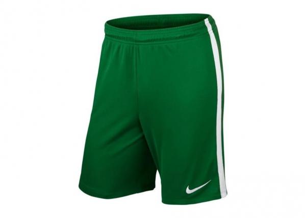 Lasten jalkapalloshortsit Nike JR League Knit JR 725990-302 TC-192328
