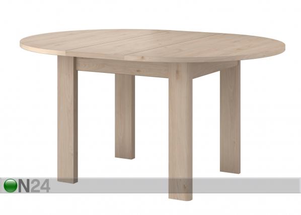 Jatkettava ruokapöytä Portland 120-156x120 cm MA-192705