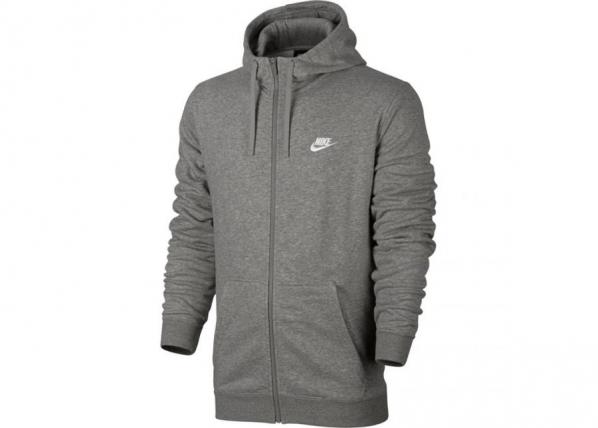 Meeste dressipluus Nike NSW Hoodie FZ FT Club M 804391 063 TC-193277