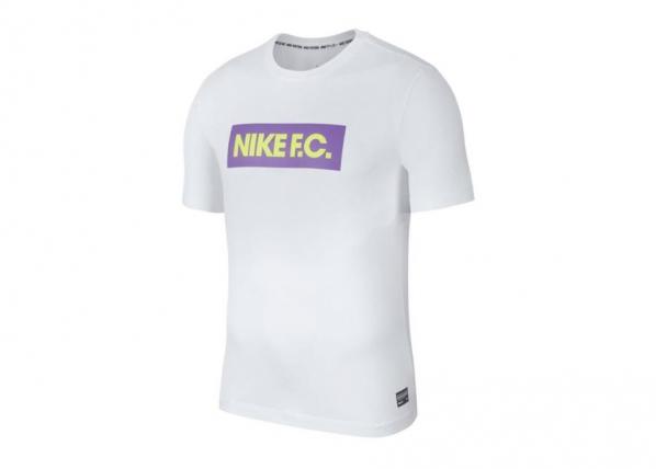 Treeningsärk meestele Nike F.C. Dry Tee Seasonal Block T-shirt 100 TC-193705