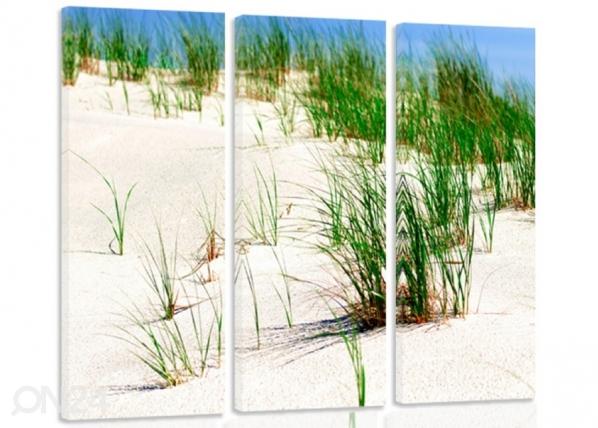 Kolmeosaline seinapilt Dunes on the beach 2 3D ED-194565