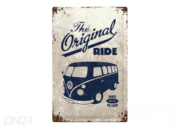 Retro metallposter VW Bulli The Original Ride 40x60 cm SG-195320