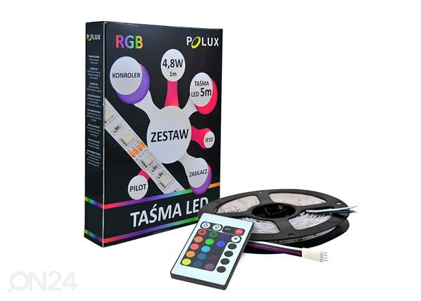 LED riba 5 m RGB 24 W + pult RT-195600