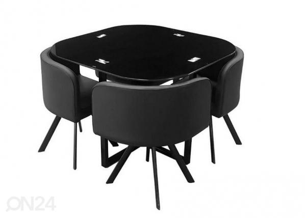 Söögilaud+ 4 tooli Cannes AQ-196695