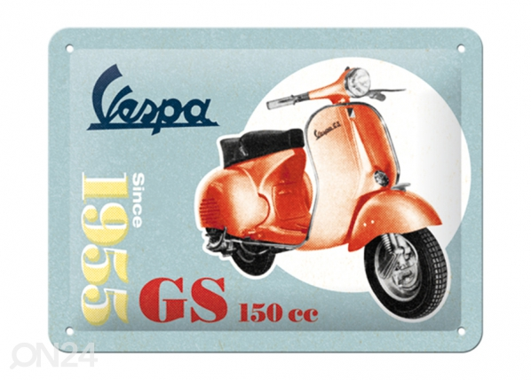 Retro metallposter Vespa GS 150 Since 1955 15x20 cm SG-196801