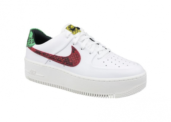 Naisten vapaa-ajan kengät Nike Air Force 1 W Sage Lo Premium W BV1979-100 TC-197910