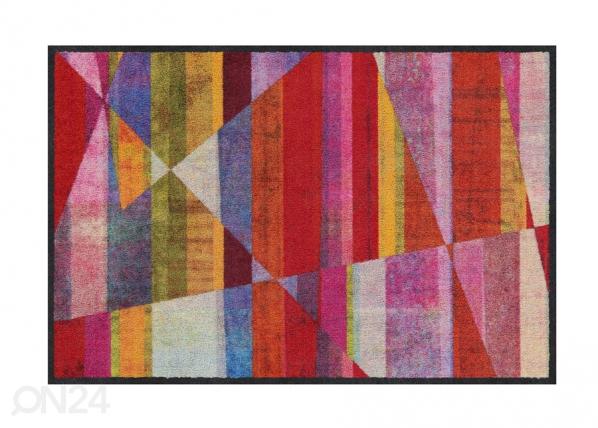 Ovimatto Inclined Stripes colourful 50x75 cm A5-200853