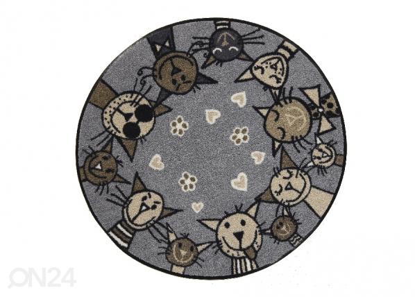 Pyöreä matto Circle Cat city-chic Ø 85 cm A5-200863