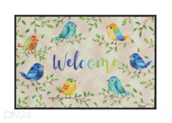 Ovimatto Lovely Birds 50x75 cm A5-200894