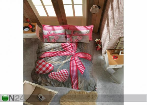Voodipesukomplekt Lovebox 3D 200x220 cm AÄ-200938