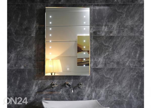 LED valgustusega peegel 50x70 cm FS-200950