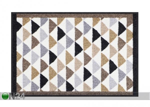Ovimatto Color Triangles city-chic 50x75 cm A5-202341