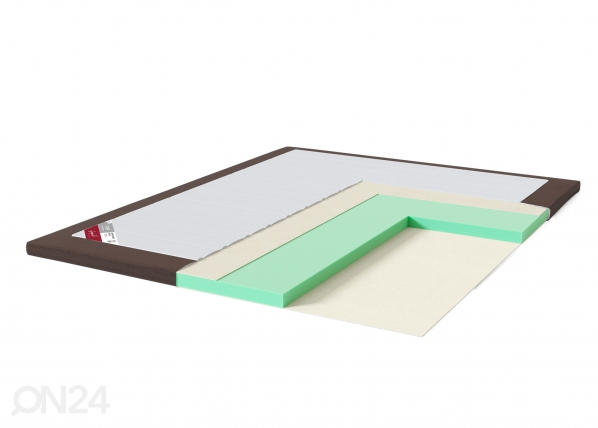 Sleepwell petauspatja TOP HR Foam Plus kalustekangas reunalla SW-202988
