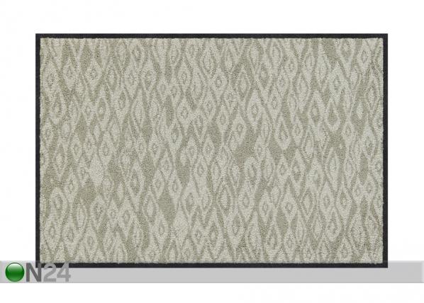 Matto Grit grey-green 50x75 cm A5-203963