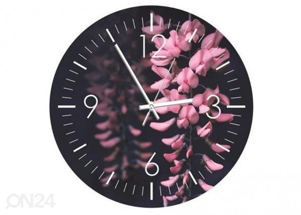 Kuvallinen seinäkello Acacia flowers ED-208809