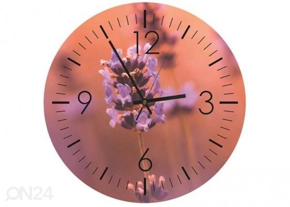 Kuvallinen seinäkello Lavender time ED-208824