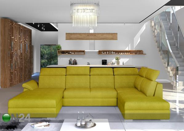 Угловой диван-кровать с ящиком TF-211340
