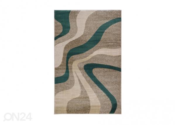 Matto Swirl Grey Aqua A5-212985