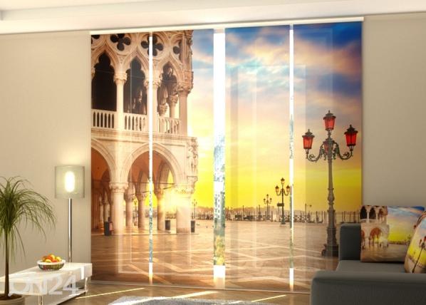 Pimentävä paneeliverho Evening in Venice 240x240 cm ED-218095