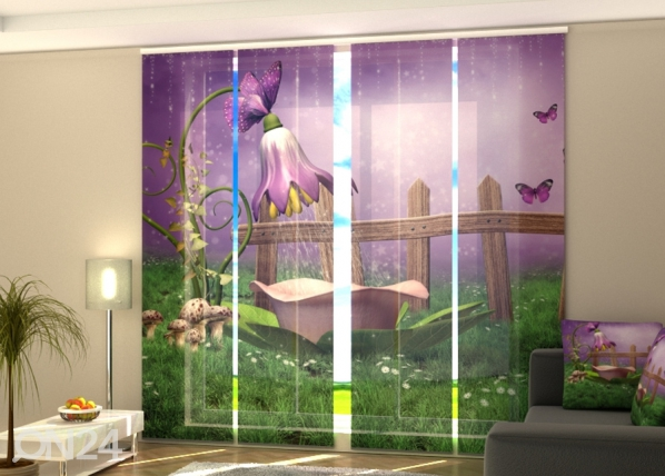Puolipimentävä paneeliverho Fairy shower 240x240 cm ED-218096