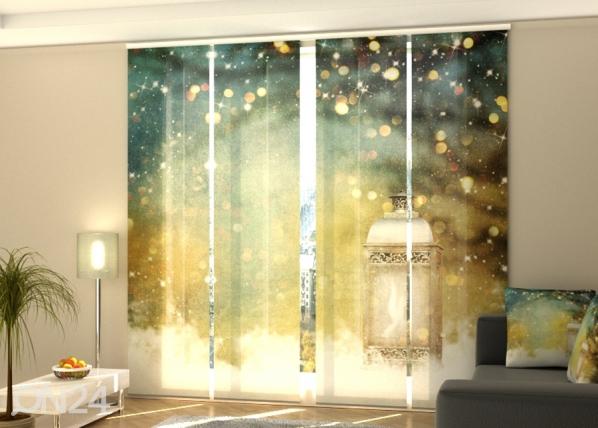 Pimentävä paneeliverho Christmas Lantern 240x240 cm ED-218378