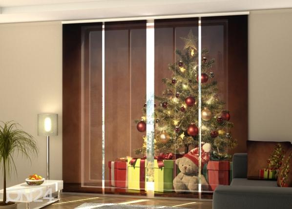 Pimentävä paneeliverho Christmas Surprise 2 240x240 cm ED-218389