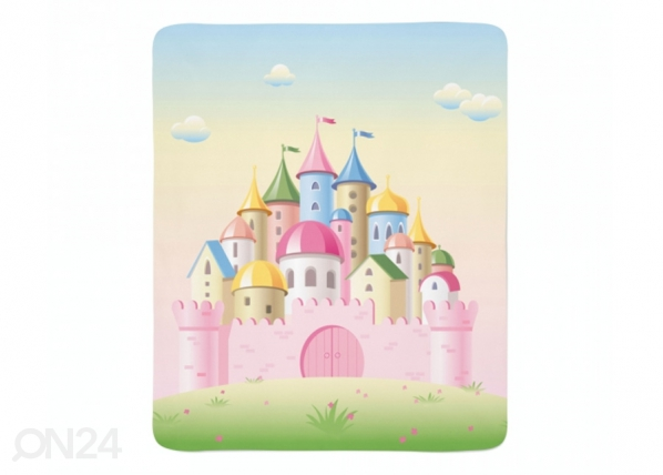 Fleecepeitto Pink Castle ED-221261