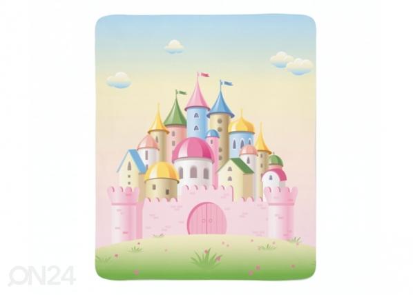 Fleecepeitto Pink Castle ED-221262