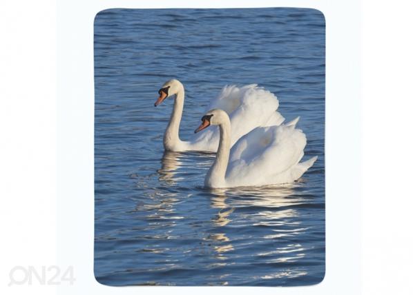 Fleecepeitto White Swans ED-221275
