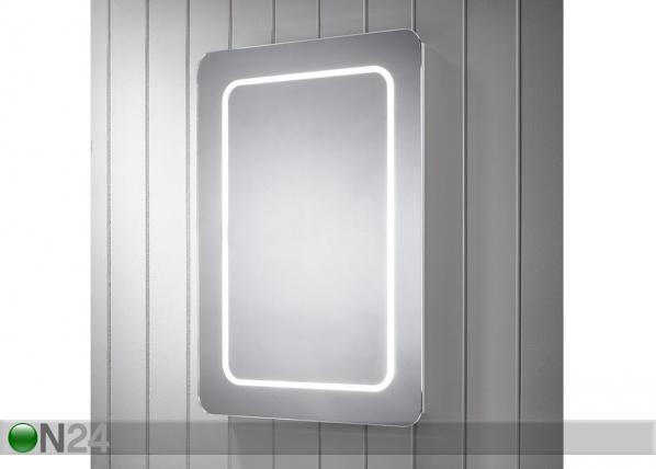 Peili LED-valaistuksella Grace 80x60 cm LY-221320