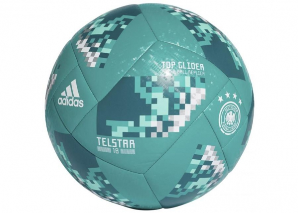 Jalkapallo adidas Telstar Top Glider WC 18 Ball DFB CE9974 TC-222779