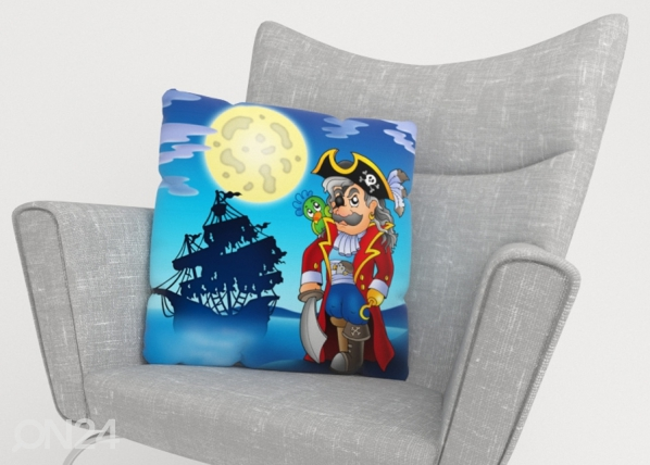 Декоративная наволочка Pirate 40x40 см ED-222852