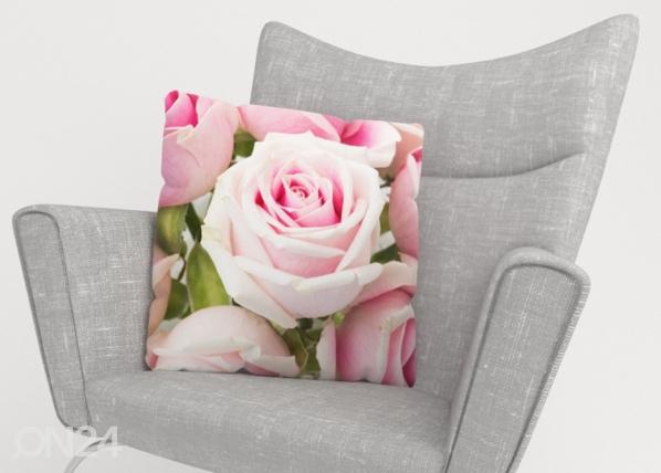 Koristetyynyliina Royal Roses ED-222872