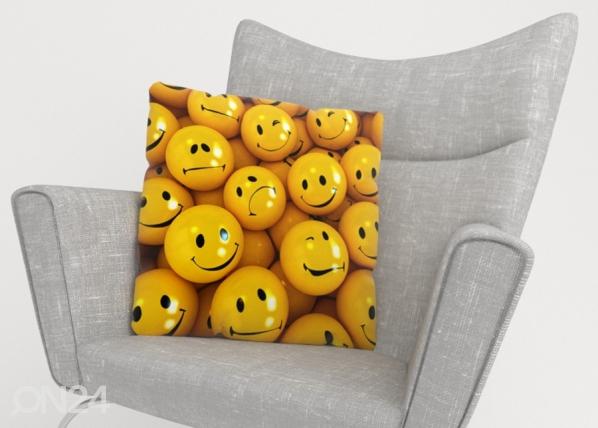 Koristetyynyliina Smiles ED-222876