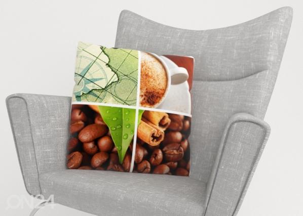 Koristetyynyliina Coffee 2 ED-222960