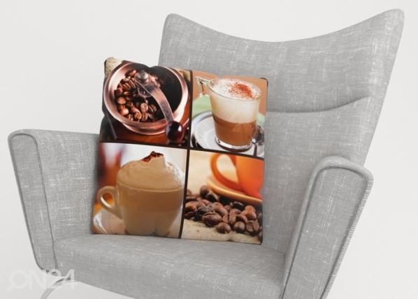 Koristetyynyliina Coffee 4 ED-222970