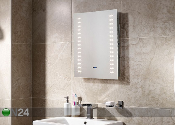 Peili LED-valaistuksella Apollo Bluetooth 60x50 cm LY-222976