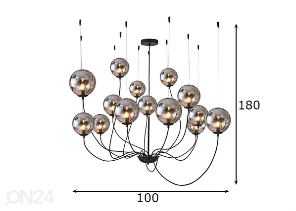 Rippvalgusti Conflux 14 SM-224353