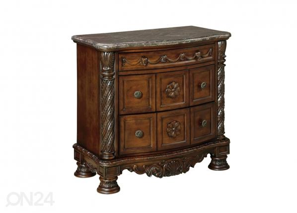 Yöpöytä marmorikannella BM-226256