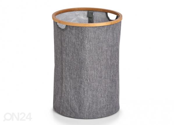 Pyykkikori, pyöreä, harmaa GB-227688