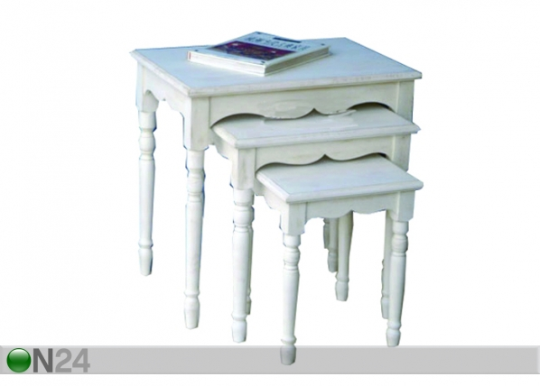 Sarjapöytä 3-os. SNOW-17 BL-22805