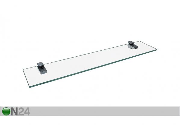Lasinen seinähylly 80 cm SM-228445