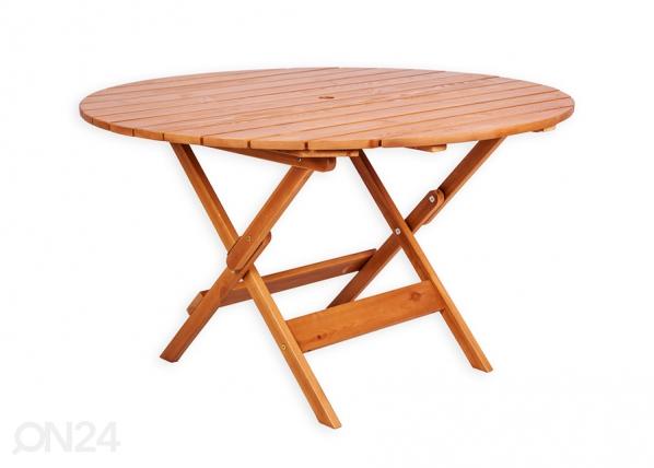 Puutarhapöytä Canada 125x125 cm F1-230592