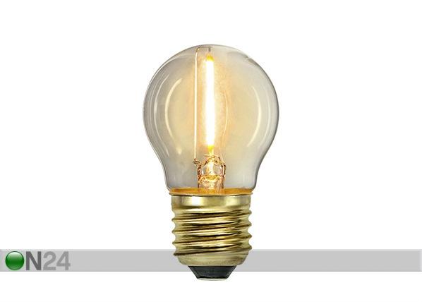 LED sähkölamppu E27 0,8 W AA-232185