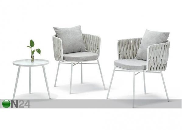 Puutarhapöytä+ 2 tuolia Havana AQ-232660