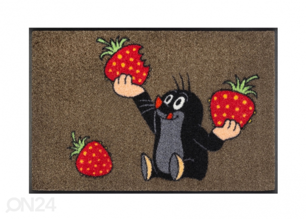 Matto Der kleine Maulwurf - isst Erdbeeren 50x75 cm A5-232840