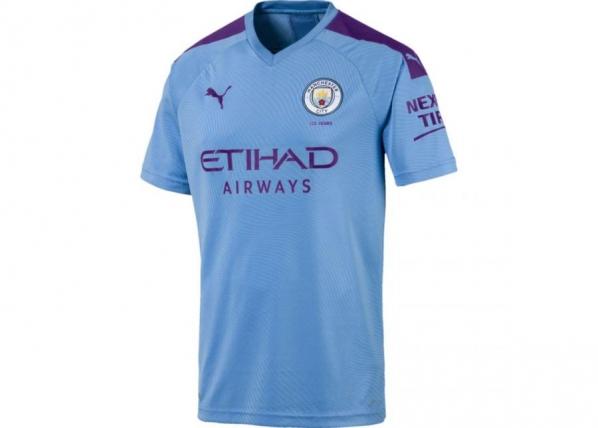 Miesten jalkapallopaita Puma Manchester City FC Home Replica M SS 755586 01 TC-249842